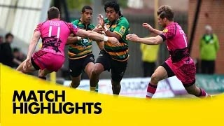 video rugby Northampton Saints v London Welsh - Aviva Premiership Rugby 2014/15