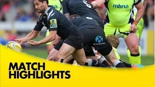 video rugby Sale Sharks v Newcastle Falcons - Aviva Premiership Rugby 2014/15
