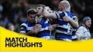 video rugby Bath v Wasps - Aviva Premiership Rugby 2014/15