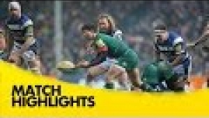 video rugby Leicester Tigers v Bath - Aviva Premiership Rugby 2014/15