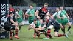 video rugby Newport Gwent Dragons v Connacht Highlights  GUINNESS PRO12 2014/15