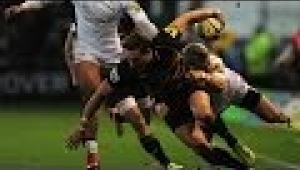 video rugby Northampton Saints vs Newcastle Falcons - Aviva Premiership Rugby 2013/14
