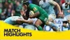 video rugby London Irish v Newcastle Falcons - Aviva Premiership Rugby 2014/15
