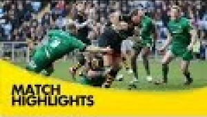 video rugby Wasps v London Irish - Aviva Premiership Rugby 2014/15