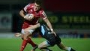 video rugby Full Match Report Scarlets v Glasgow Warriors 5th Oct 2013