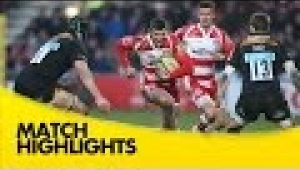 video rugby Gloucester v Wasps - Aviva Premiership Rugby 2014/15