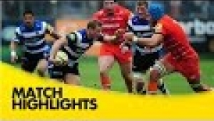 video rugby Bath v Leicester Tigers - Aviva Premiership Rugby 2014/15