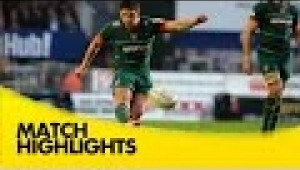 video rugby Leicester Tigers v Saracens - Aviva Premiership Rugby 2014/15
