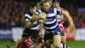 video rugby Bath Rugby vs Gloucester Rugby - Aviva Premiership Rugby 2013/14