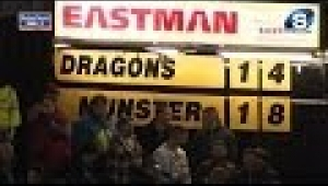 video rugby Dragons v Munster - Full Match Report - Friday 29th November 2013