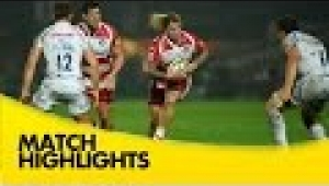 video rugby Gloucester v Exeter Chiefs - Aviva Premiership Rugby 2014/15