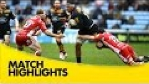 video rugby Wasps v Gloucester - Aviva Premiership Rugby 2014/15