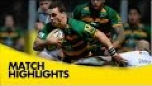 video rugby Northampton Saints v Wasps - Aviva Premiership Rugby 2014/15