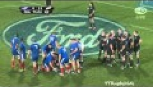 video rugby All Blacks vs France 2nd Test 2013