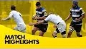 video rugby Bath Rugby vs Newcastle Falcons - Aviva Premiership Rugby 2013/14