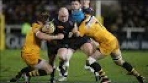 video rugby Newcastle Falcons vs London Wasps - Aviva Premiership Rugby 2013/14