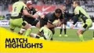 video rugby Saracens v Northampton Saints - Aviva Premiership Rugby 2014/15