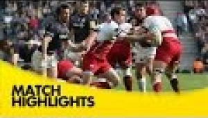 video rugby Northampton Saints v Saracens - Aviva Premiership Rugby 2014/15