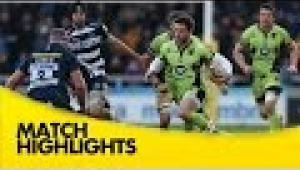 video rugby Sale Sharks v Northampton Saints - Aviva Premiership Rugby 2014/15