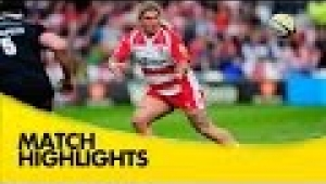 video rugby Gloucester v Newcastle Falcons - Aviva Premiership Rugby 2014/15