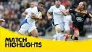 video rugby Wasps v Bath Rugby - Aviva Premiership Rugby 2014/15