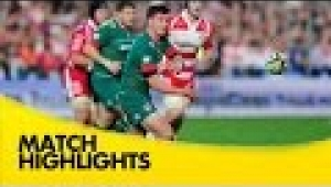 video rugby Gloucester v Leicester Tigers - Aviva Premiership Rugby 2014/15