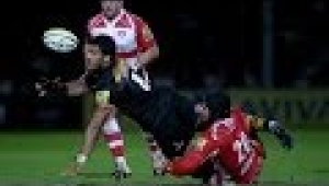 video rugby Gloucester Rugby vs London Wasps - Aviva Premiership Rugby 2013/14