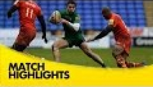 video rugby London Irish v Leicester Tigers - Aviva Premiership Rugby 2014/15