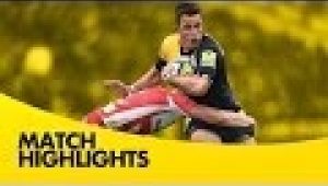 video rugby Worcester Warriors vs Gloucester Rugby - Aviva Premiership Rugby 2013/14