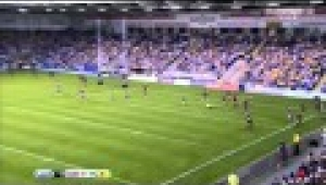 video rugby Warrington v Leeds