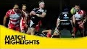 video rugby Exeter Chiefs v Gloucester - Aviva Premiership Rugby 2014/15
