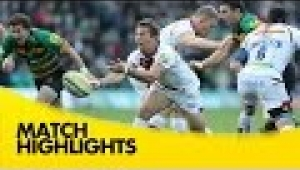 video rugby Northampton Saints v Sale Sharks - Aviva Premiership Rugby 2014/15