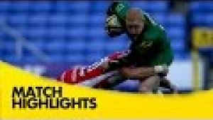 video rugby London Irish v Gloucester - Aviva Premiership Rugby 2014/15