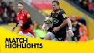video rugby London Welsh v Wasps - Aviva Premiership Rugby 2014/15