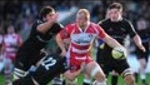 video rugby Newcastle Falcons vs Gloucester Rugby - Aviva Premiership Rugby 2013/14