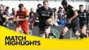 video rugby Saracens v Leicester Tigers - Aviva Premiership Rugby 2014/15