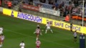 video rugby Wigan v Salford