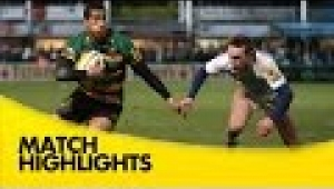 video rugby Northampton Saints v Newcastle Falcons - Aviva Premiership Rugby 2014/15