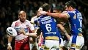 video rugby Leeds Rhinos v Wigan Warriors