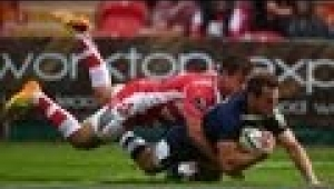 video rugby Gloucester vs Sale Sharks - Aviva Premiership Rugby 13/14
