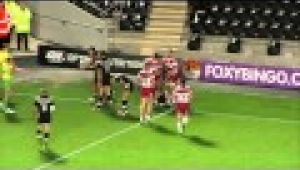 video rugby Hull FC v Wigan