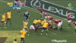 video rugby Wallabies vs British & Irish Lions 2nd Test 2013