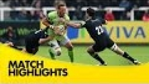 video rugby Newcastle Falcons v Northampton Saints - Aviva Premiership Rugby 2014/15
