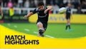 video rugby Newcastle Falcons v London Irish - Aviva Premiership Rugby 2014/15