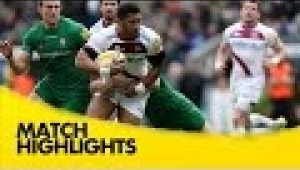video rugby London Irish v Sale Sharks - Aviva Premiership Rugby 2014/15