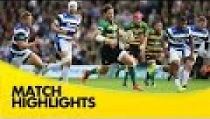 video rugby Northampton Saints v Bath - Aviva Premiership Rugby 2014/15