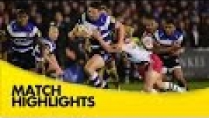 video rugby Bath v Harlequins - Aviva Premiership Rugby 2014/15