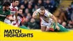 video rugby Leicester Tigers v Sale Sharks - Aviva Premiership Rugby 2014/15