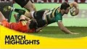 video rugby Northampton Saints v Leicester Tigers - Aviva Premiership Rugby 2014/15