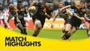 video rugby Wasps v Harlequins - Aviva Premiership Rugby 2014/15